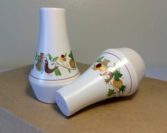 Vintage Salt and Pepper Set Noritake China Homecoming Autumn Dining Table
