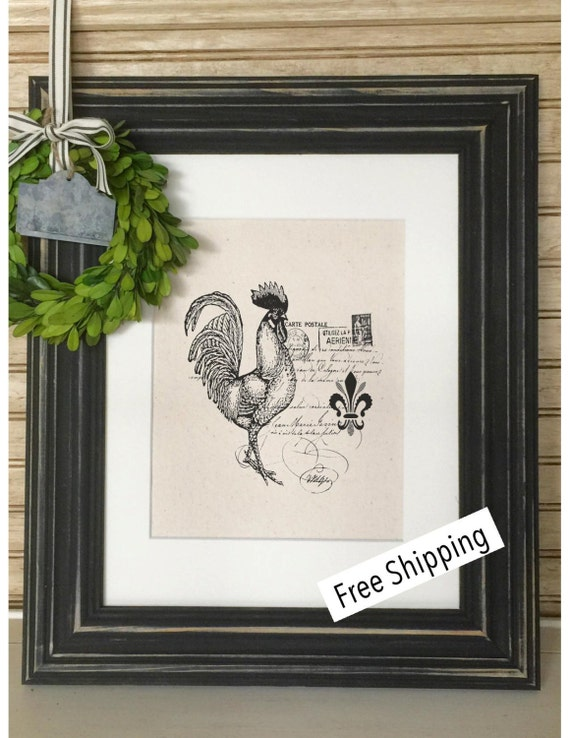 french rooster decor french country decor by