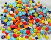 1 pound mosaic tiles-circles in variety of sizes