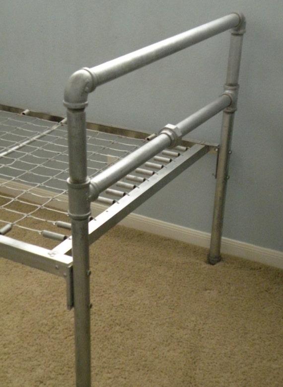 Industrial Metal Pipe Twin Bed