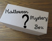 Mystery Box of Eight Ornaments, Halloween Themed