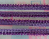 Violet Mini PomPom Small Fluffy Ball Fringe Knitting Baby Quilting Bedding Embellishments Trim 36 Yards
