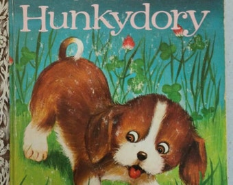 Fun For Hunkydory Little Golden Book 1963 First A Edition