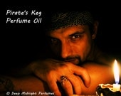 PIRATES' KEG Perfume Oil - Bay Rum, Leather, Wild Musk, Coconut, Lime - Pirate Perfume - Black Sails
