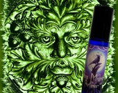 Jack in the Green Perfume Oil:  Oakmoss, Vetiver, Patchouli - Artisan Perfume Oil