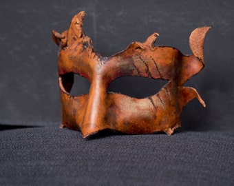 Scratched Leather Mask
