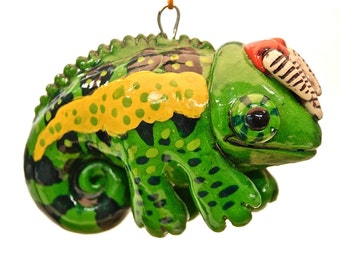Jackson's Chameleon Christmas Ornament