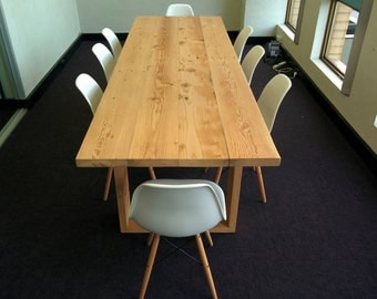 Modern Recycled Oregon Table, made to order