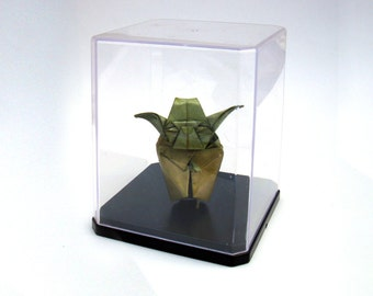 FIGURINE 55mm origami yoda sculpture