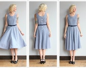 1990s Dress // Summer Gingham Dress // vintage 90s dress