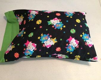The Hello Kitty travel pillow case/toddler pillow case 100% cotton