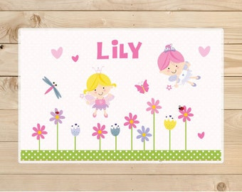 Kids-Personalized-Placemat-Personalised-Fairy-Placemat-for-girls