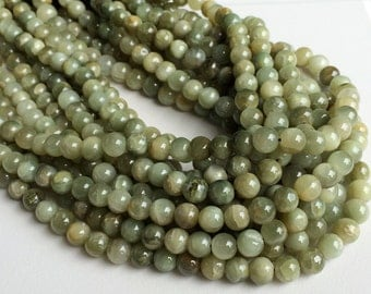5 Strands WHOLESALE Cats Eye Stone, Natural Chrysoberyl Rondelle, Green Cats Eye Beads, Cats Eye Necklace, 7.5mm Beads, 14 Inch