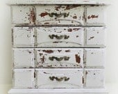 C H I P P Y, Jewelry Box, Vintage Whites Collection Shabby Chest Custom Interior