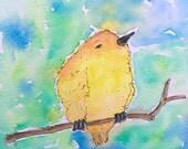ORIGINAL Tiny Yellow Bird