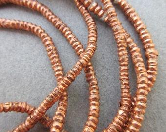 Copper Heishi -2 Strands