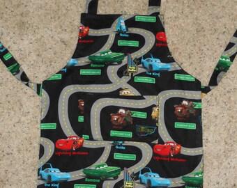 Disney's Cars Roadway Child's Apron