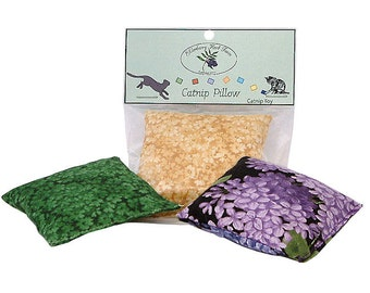 Catnip Square Pillow Toy