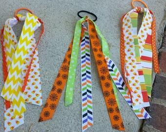 Fall streamer ribbons
