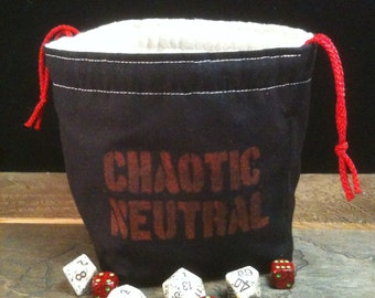 Chaotic Neutral Dice Bag