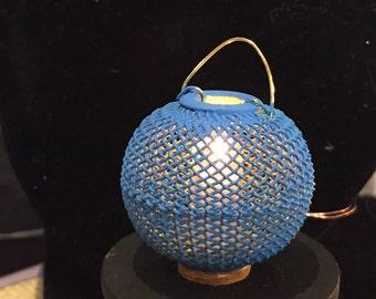 Fisherman lantern Light - Dollhouse Size - 12 Volt - Handmade