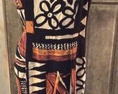90's Aztec Print Boho...