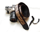 Ready to ship -  Best camera strap for DSLR -Gold dust