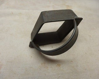 Vintage Fries Cookie Cutter - Tin Cookie Cutter - Advertising Cookie Cutter