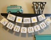 You Are My Sunshine Neutral Theme Baby Shower. Party Decoration. Banner and Garland. Baby Shower Banner. Baby Shower Decoration.