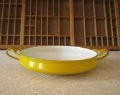 Dansk Kobenstyle Paella Pan Yellow Jens Quistgaard Design
