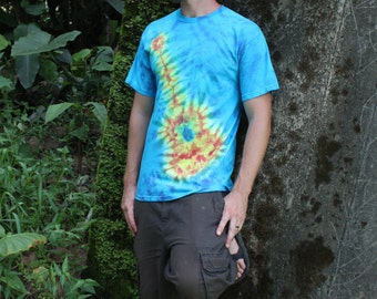 Tie dye Guitar shirt Adult sizes
