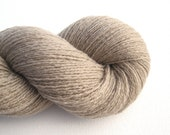 Lace Weight Recycled Cashmere Yarn, Greige, 1110 Yards, Lot 130715