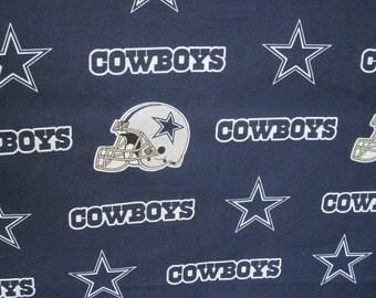 Dallas Cowboys,  New Orleans Saints or LSU Napkins - Set of Four - Handmade