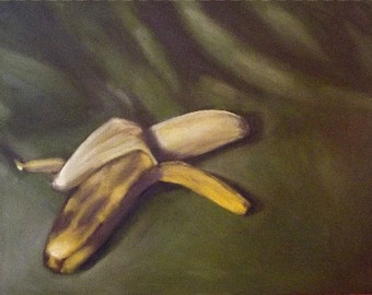 Banana Envy Original Oil Painting