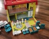 Vintage Complete Fisher Price Children's Hospital Playset
