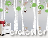 Bears Wall Decals - Nursery Wall Decals, Baby Nursery Decal and Baby Nursery Wall Sticker -  PLTBRS060 - CHECK OUR SUMMER Deals!!!