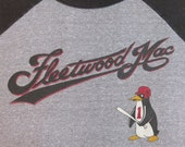 FLEETWOOD MAC 1982 tour jersey T SHIRT