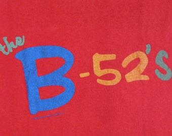 B-52's 1983 tour T SHIRT