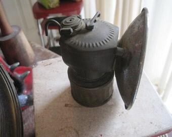 Antique Miner's Lamp