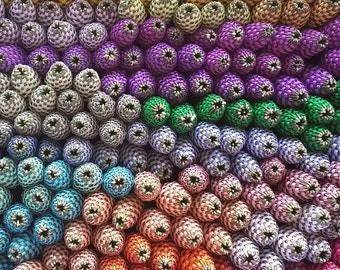Lavender Wands One Of Each Color Rainbow (30) Medium English Lavender Batons Wholesale FREE SHIPPING USA