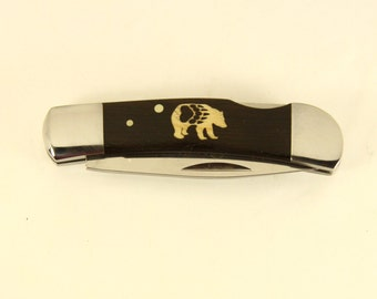 Magnum Jewel with Custom Bear and Paw Inlay