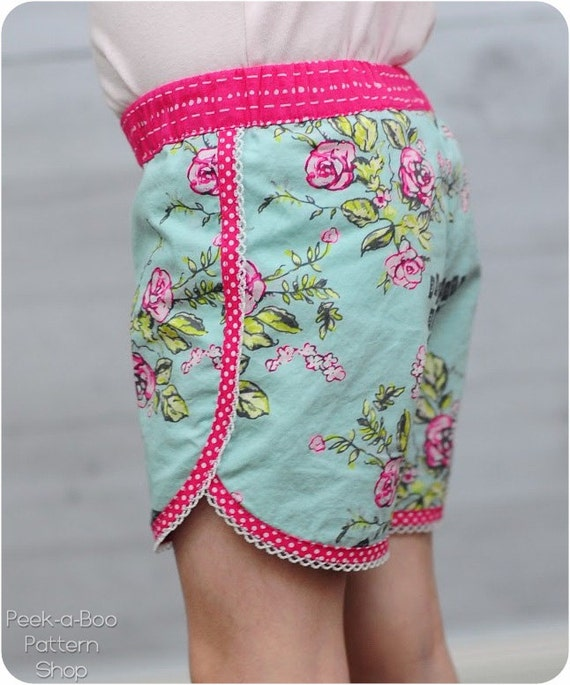School\'s Out Shorts Sewing Pattern: Running Shorts Pattern, Swim ...