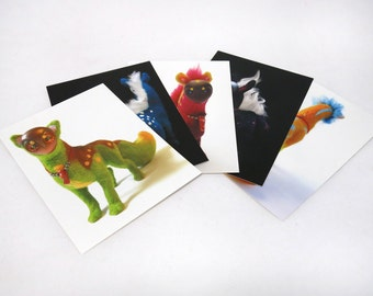 Flox Postcards - Series 1 (set of 5 cards)