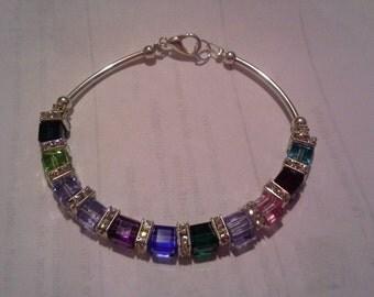 Grandmothers/ Mother's bracelets- 11-15 stones