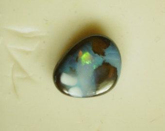 Natural Australian Iron Stone Opal Doublet cabochon  9444