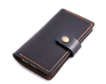 Slim Leather iPhone 6 Plus Wallet Case