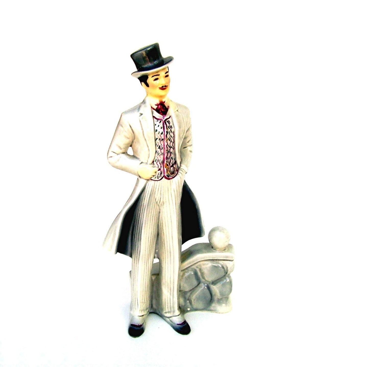 Vintage Florence Ceramics Rhett Butler Porcelain Figurine Rare