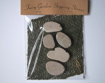 Fairy Garden Stepping Stones, Miniature Garden Stepping Stones, Fairy Garden Decor