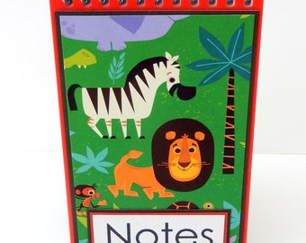 Safari:- Mini Spiral Memo Pad- 3 x 5 inches