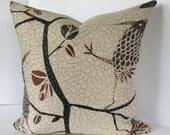 Flock Together Decorative Bird Pillow